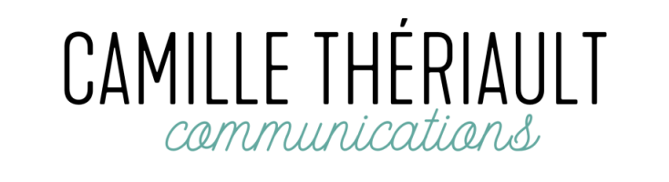 Logo Camille Thériault communications